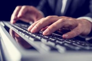Using computer keyboard